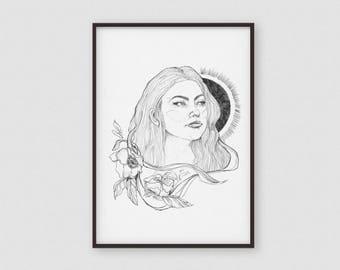 Poster | Art Printing |Artprint | Emily-Print A4