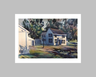 "Photo Print ""An Indiana Farmhouse"""