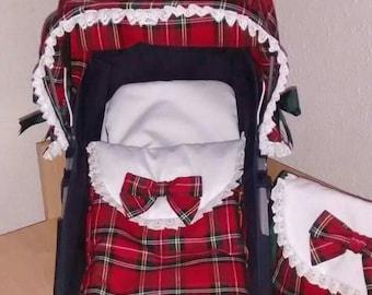 Cover cap set, winter bag and baby bag