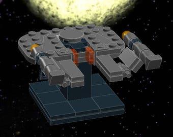 USS Franklin - Lego Star Trek - Instructions/Parts List - Files Only