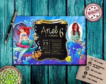 little mermaid,little mermaid invitations,little mermaid birthday,little mermaid party,little mermaid invitations,little mermaid invited