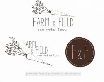 Food Logo-Vegetable Logo-Chef Logo-Catering Logo-Farm Logo-Business Logo-Branding