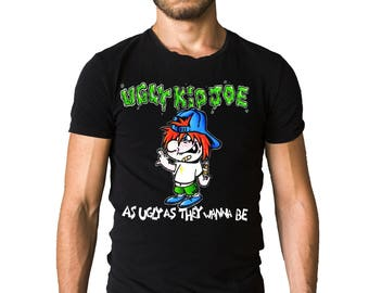 Ugly Kid Joe As Ugly As They Wanna Be 1991 Album Cover T-Shirt