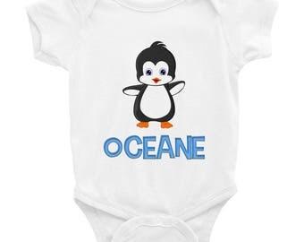 Oceane Penguin Infant Bodysuit