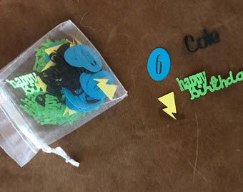 Personalized Birthday Confetti