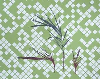 Palm Fronds 1 Screen Print