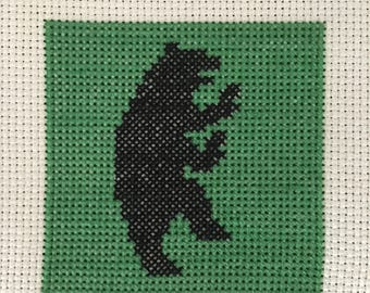 Game of Thrones: House Mormont Sigil Cross Stitch Pattern