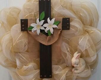 Easter - King of Kings Wreath/ Easter Wreath