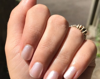 Here Comes the Bride- Homemade Indie Nail Polish
