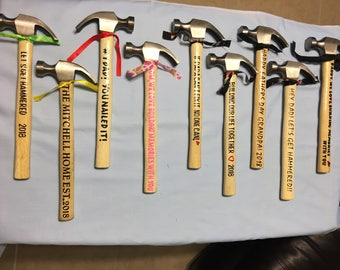 Personalized Hammers