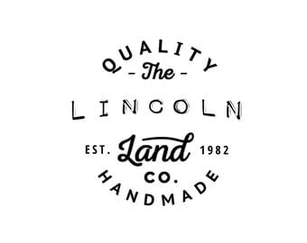 Land of Lincoln Digital Download Art - Chicago Souvenir Design