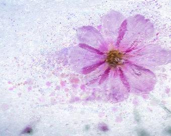 Digital Painting/Abstract Painting/Flower/Digital Print/Instant digital download