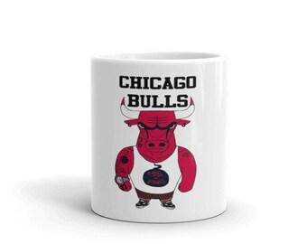 Chicago Bulls Basketball Mug