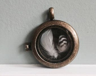 Feather Locket