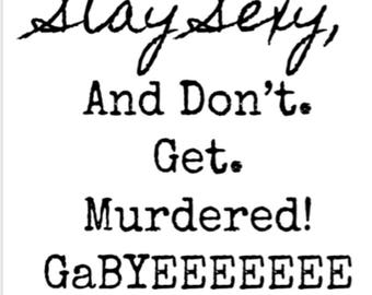 SSDGM Gabyeeee t- shirt