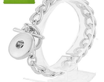 20mm Snap Jewelry Bracelet