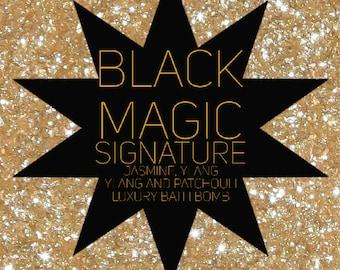Black Magic Midnight Jasmine Bath Bomb