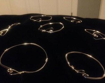 Heart Wire Bracelet