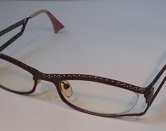 IYOKO-INYAKE Eyeglass Spectacle Frame Belgian Made in Japan 728 53-19-140 -#114