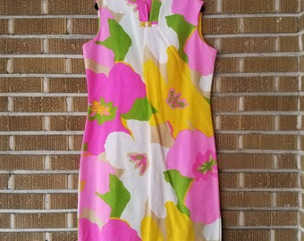 Waltah Clarke's Hawaiian mini dress 60s