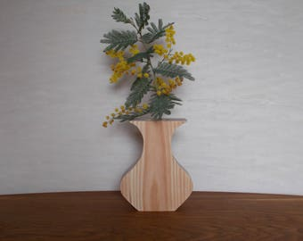 Wooden Flower-Pot