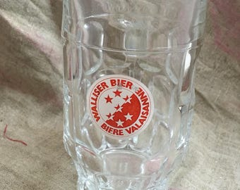 Walliser Bier/ Bier Valaissanne glass - Beer glass