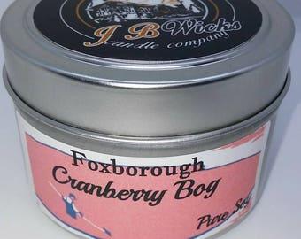Foxborough Cranberry Bog 4oz Tin