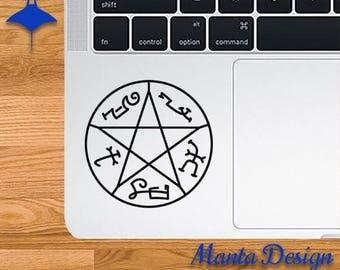 Supernatural Devil's Trap Symbol Vinyl Decal
