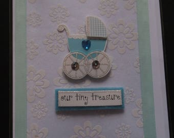 Handmade card- New Baby