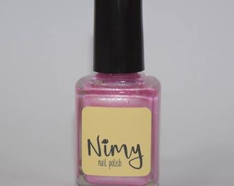 Blissfully Unaware - Pink Nail Polish - UK Homemade - Cruelty Free - Vegan - 5-Free