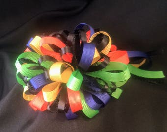 Rainbow Loopy Headband