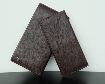 Wallet,Long Wallet, Billfold Wallet, Leather Wallet, Womens wallet, Women Wallet Leather, Mens Wallet,