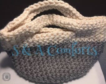 Ready to Ship**Crocheted Tote Bag| Large purse