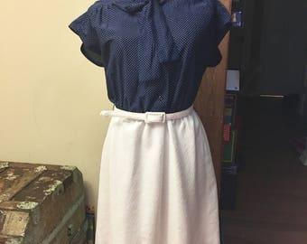Polka dot vintage summer dress