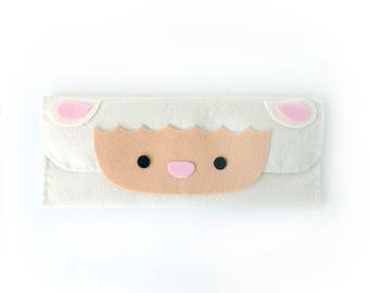 Sheep Long Pouch