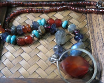 Multi Gemstone necklace - 2