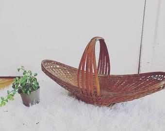 Vintage fruit basket