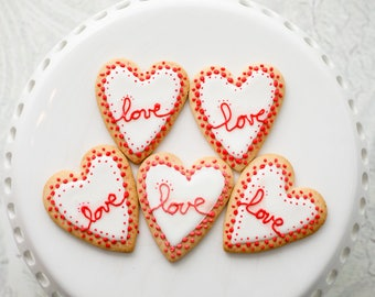"Sugar cookie ""Candy heart"""