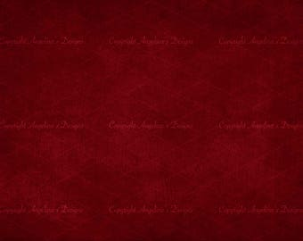 Canvas Digital Backdrop - Dark Red