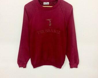 Rare!!! Vintage trussardi sweatshirt