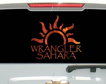 Wrangler Sahara Tribal Sun Flames