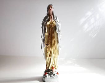Vintage statuette The Holy Virgin