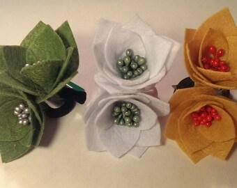 "Elastics ""Lilies buds"""