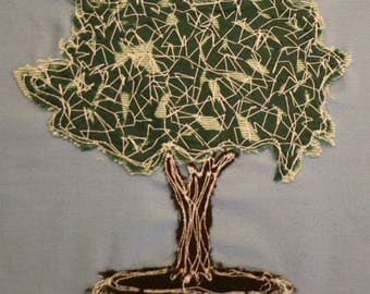 Cherry Tree Applique