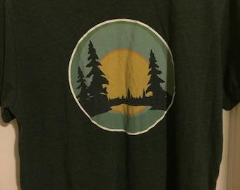 Vintage Roots Canada Tshirt.  Men's L
