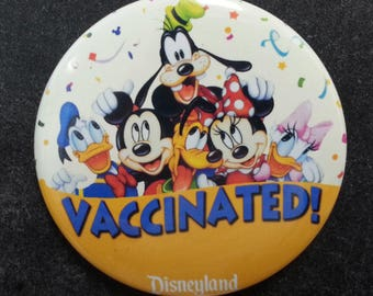 All 4 the Mouse Vaccinated Button