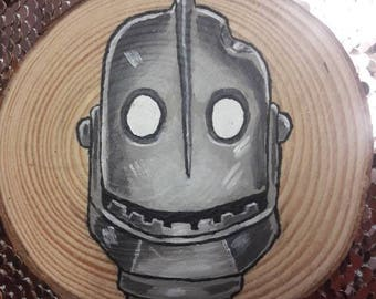 Hand painted Iron Giant