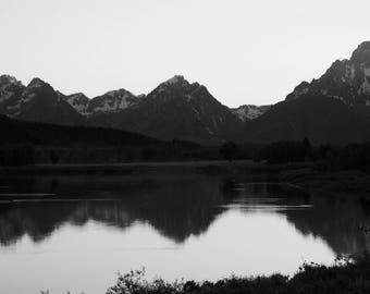 Grand Tetons Canvas Photo