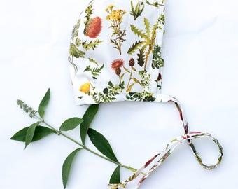 Botanical Baby Bonnet