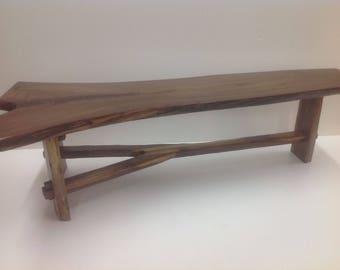 Live edge furniture